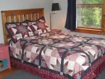 Full/Double corner Bedroom has garden view