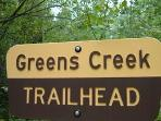 Hike Greens Creek