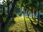 Sunrise at Villa Sabandari