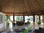 Huge Palapa for relaxing