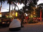 Restaurants & Bars Spill Out Onto the Beach
