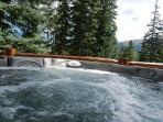 Hot Tub view