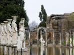 Hadrian's Villa, worth touring - 40 minutes from the Casale