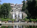 Tivoli Gardens and Villa D-Este, a must-see destination for our guests