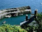 Clovelly Harbour - trips to Lundy Island