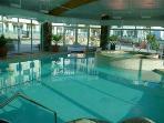 indoor pool and indoor hotbub