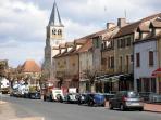 The main street in Cormatin