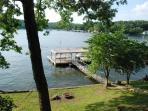 View of the Cove from the Covered Deck