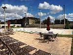 Voleyball Court with Sun Deck