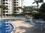 Condo is on Polo\'s quiet, sunny side near Oceanside pool & spa 251.