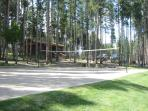 Wolf Park Volleyball Net