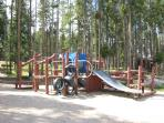 Wolf Park Playground (5 minute walk from cabin)