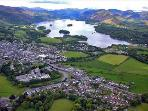 Keswick and Derwentwater from Latrigg