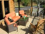 Living Room Patio Set with Rockers!
