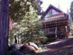 House facing Lake Almanor