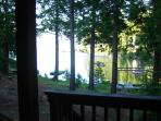 View Of Lake From lower Deck