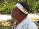 Mayan pole dancer