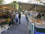 Typical Parisian Local Market