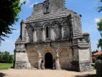 The church in Berneuil