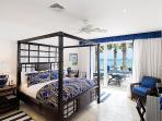 Master Bedroom with King Bed - ocean view