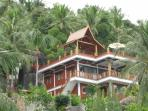 The hilltop villa is highest house on the mountain!