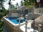 Lomchoy sky pool - this one is just below the upper pool. 2 meters deep, so great for laps!