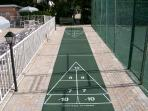 1 of 2 Shuffleboard Court