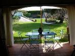Summer diningroom Les Terrasses