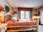 Cedars Townhomes Master Bedroom Ski-in/Ski-Out Breckenridge Lodg