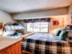 Cedars Townhomes Guest Bedroom Ski-in/Ski-Out Breckenridge Lodgi