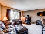 Gold Camp Condo on Peak 8 Living Room Breckenridge Lodging