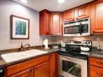 Columbine Condo Kitchen Breckenridge Lodging Condo Rentals