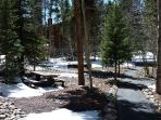 Columbine Condo Complex Grounds Breckenridge Lodging Condo Renta