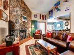 Park Place Living Room Breckeridge Ski-in Lodging