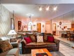 Sundowner II Living Room Breckenridge Lodging & Vacation Condos