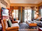 WIldwood Suites Living Room Ski-in Breckenridge Lodging