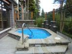 Trails End Outdoor Hot Tub Breckenridge Lodging