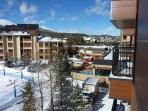 Village at Breckenridge View of Pool & Hot Tub from Balcony