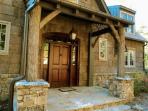 Elegant front porch