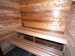 Upstairs Sauna