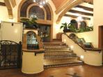 Beautiful front lobby area.