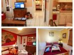 2 Bedroom Beac Suite Renoir # 4, for 4 to 6, Full Kitchen Full Bath, rsvp 1-954-450-0000