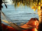 The Hammock at Sunset-perfect spot for Dolphin watching!