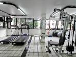 Gym of building