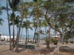 Kahalu'u Beach - great for snorkeling