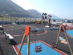 Playground at Rossbeigh Beach 5min drive