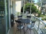 Balcony off 1st & 2nd Bedroom