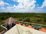 Enjoy the views from the roof-top Sky Lounge terrace of the Sky House.
