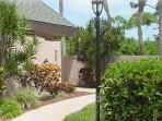 Sidewalk/Entrance to Villa