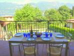 Dine alfresco on your private balcony
